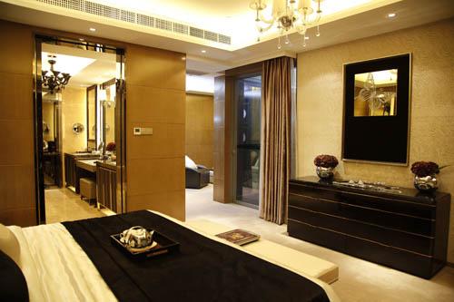 颐公馆下户二层层高3.3米,全套房设计,保证家人私人空间需求