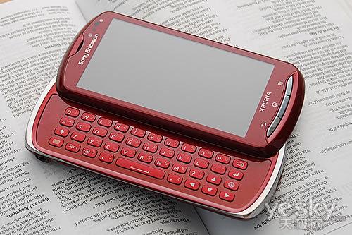 图为:索尼爱立信 MK16i 手机