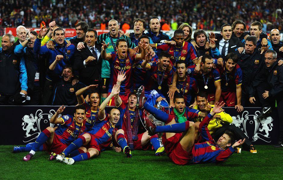 欧冠:梅西比利亚破门 巴萨3:1曼联第4次夺冠 高清(组图)图片
