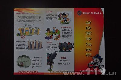 重庆消防万余份宣传画报助推宣贯工作[图]