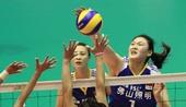 图文:[女排]中国3-0朝鲜 王一梅扣球