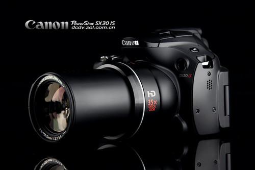 图为:佳能SX30 IS相机