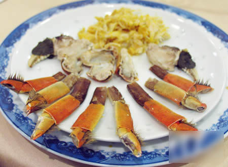 蟹壳不致七零八落,就为之好技术。