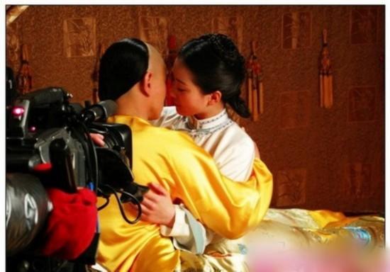 步步惊心 吴奇隆刘诗诗床戏背后表演雷人图片