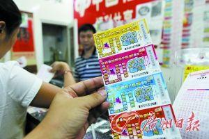 深圳的一家福利彩票投注站。记者杨勤摄