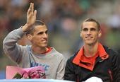 图文:钻石联赛布鲁塞尔站 兄弟称霸男子400米