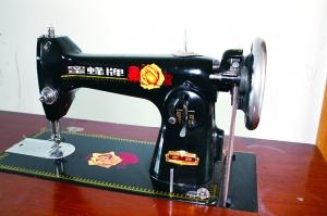 张润和家里保存的缝纫机