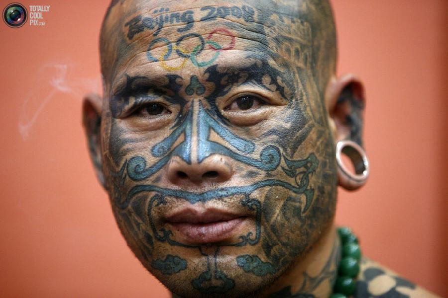 全球纹身达人(组图)