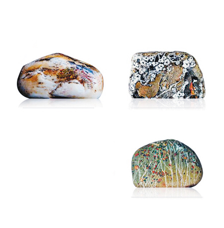 在石头上画画用什么颜料