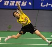 图文:[羽毛球]王适娴女单登顶 蒋燕皎坚持比赛