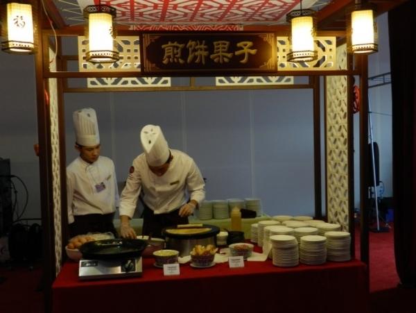 中国特色小吃――煎饼果子图片