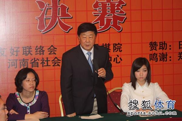 刘思明宣布开赛