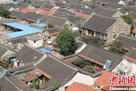 南通华侨博物馆新馆规划地址,二层小楼为新馆主馆位置