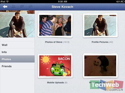 Facebook已经推出了iPhone应用,现在就缺iPad应用应用了。(Amy)