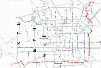 北京市14号线等四条地铁线规划方案公布(组图-焦作地铁规划线路图图片