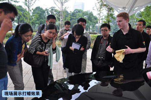 继续高品质精护上海汽车博物馆