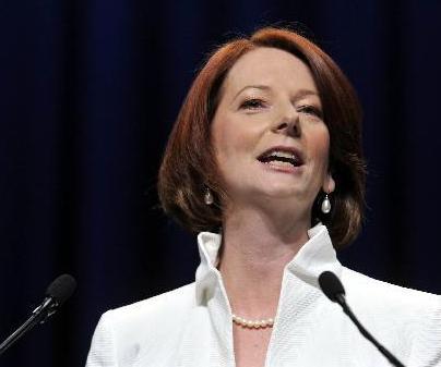 资料图:澳大利亚女总理吉拉德