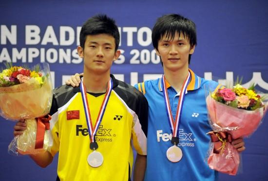 图文:鲍春来生涯回顾 2009年亚锦赛夺冠