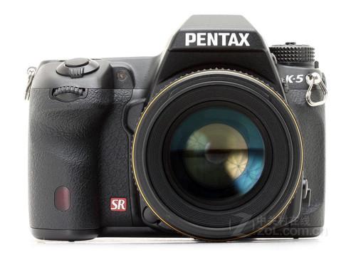 图为:宾得单反相机K-5套机