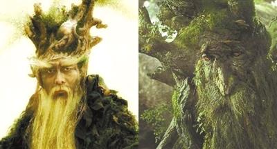 树妖vs树人.