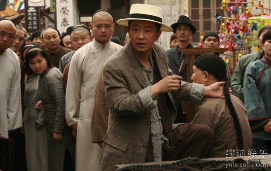 黄海波 丁力/黄海波曾在《新上海滩》里出演丁力 ,这次出演许大胆可谓...