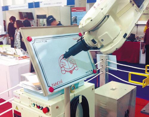 电焊机器人还能玩画画 图 机器人 实时仿真,CAN总线测试,环境