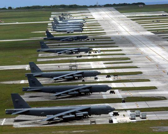 美軍亞洲海外軍事基地遍布中國周邊 呈包圍之勢(圖)