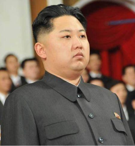 资料图:朝鲜劳动党中央军事委员会副委员长金正恩。