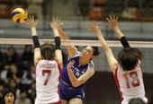 图文:女排亚锦赛中国队夺冠 王一梅咬牙切齿