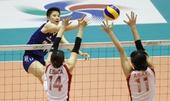图文:女排亚锦赛中国队夺冠 张磊表现上佳