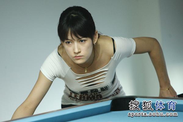 气质不输潘晓婷的台湾美女选手何心如再现赛场