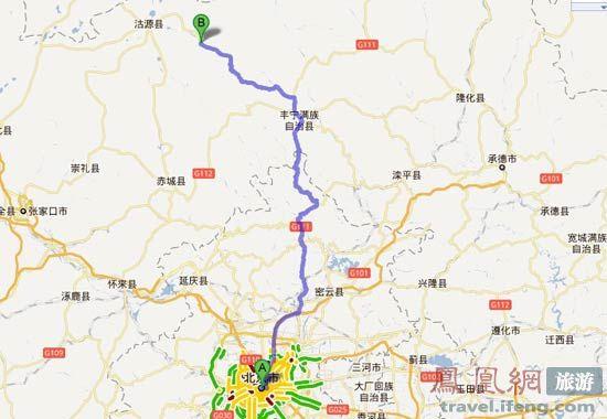 南大梁高速公路地图