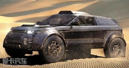 路虎极光将征战达喀尔 采用宝马发动机高清图片