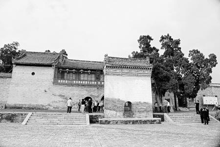 白水仓颉庙