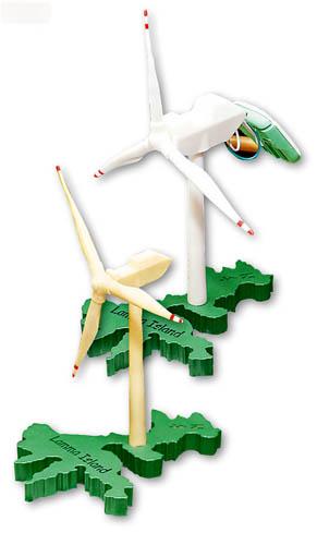 店主朋友自家创作,极具南丫岛特色的太阳能风车模型,底座更是南丫岛的