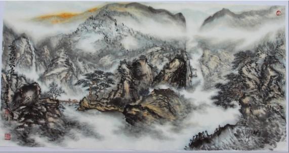 陈永华——中国当代书画大师作品展(组图)图片