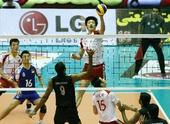 图文:男排亚锦赛中国队晋级四强