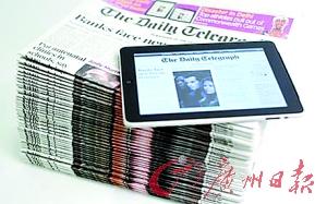 """移动终端大大拓展报纸""""内涵"""" 用iPad""""印报纸"""""""