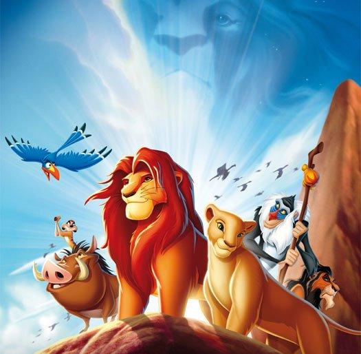 《狮子王3D》海报