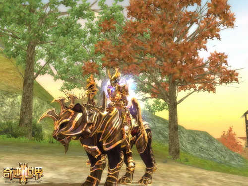 图9:《奇迹世界2》猎豹坐骑