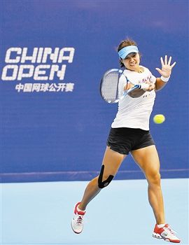 WTA世界排名第五的李娜目前正在北京紧锣密鼓地备战