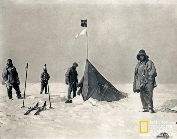 追忆百年前南极探险家:抢先到达世界尽头的男人(组图)