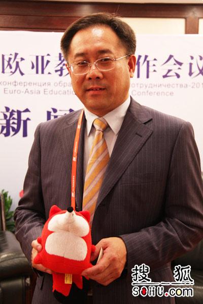 中国教育部国际合作与交流司副巡视员 于继海