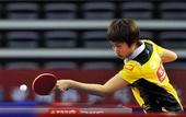图文:乒乓球亚洲杯郭跃晋级四强 郭跃网前救球