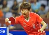 图文:乒乓球亚洲杯郭跃晋级四强 郭焱反手推挡