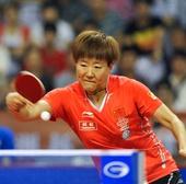 图文:乒乓球亚洲杯郭跃晋级四强 郭焱奋力回球