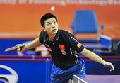 图文:乒乓球亚洲杯马龙晋级四强 马龙动作舒展