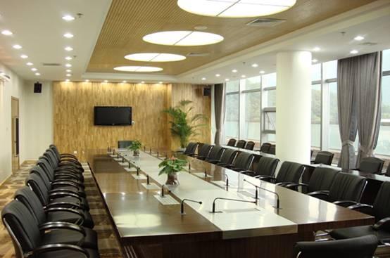高端商务会议室图片