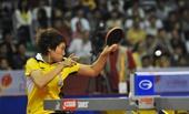 图文:[乒乓球]亚洲杯郭跃无缘决赛 飒爽英姿