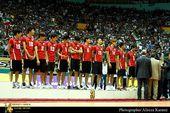 图文:男排1-3伊朗获亚军 韩国队获季军